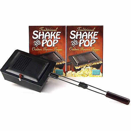 Wabash Valley Farms Traditional Shake and Pop Outdoor Popcorn Popper