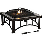 Pleasant Hearth 30 in. Hampton Slate Top Fire Pit