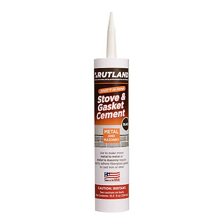 Rutland Stove & Gasket Cement, Original, 10.3 fl. oz. Cartridge