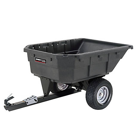 Ohio Steel Poly Swivel Dump Cart, 12.5 cu. ft./1000 lb. Capacity