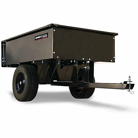 Ohio Steel Steel ATV Dump Cart, 12 cu. ft./1000 lb. Capacity