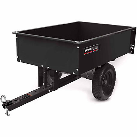 Ohio Steel Steel Dump Cart, 12 cu. ft./1000 lb. Capacity