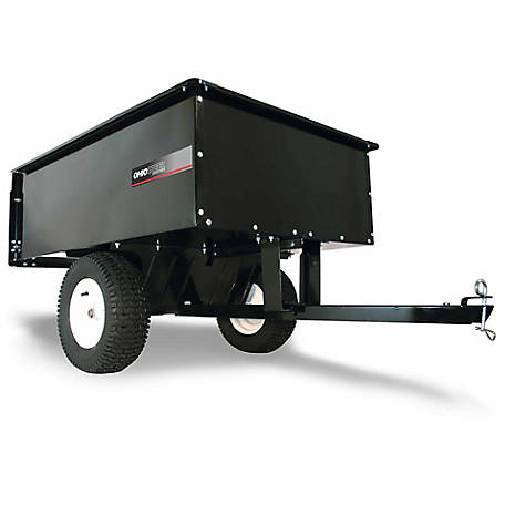 Ohio Steel Steel Dump Cart, 16 cu. ft./1250 lb. Capacity