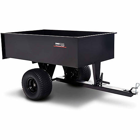 Ohio Steel Welded Steel ATV Dump Cart, 20 cu. ft./1500 lb. Capacity