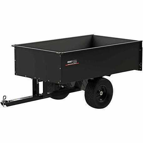 Ohio Steel Steel Dump Cart, 20 cu. ft./1500 lb. Capacity