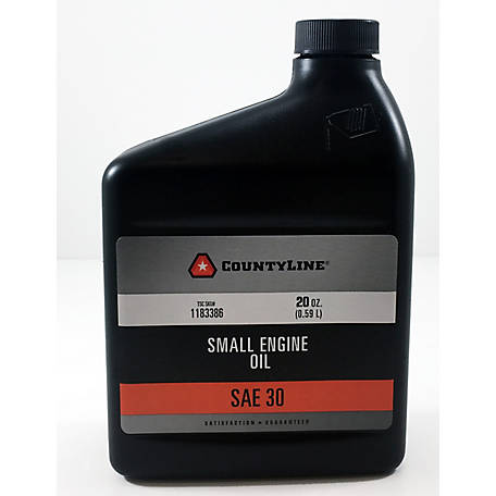 CountyLine Lawnmower Oil SAE 30 20 oz.