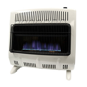 Mr heater 30 000 btu vent free blue flame natural gas for Natural gas heating options