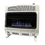 Mr. Heater 30,000 BTU Vent-Free Blue Flame Natural Gas Heater with Blower