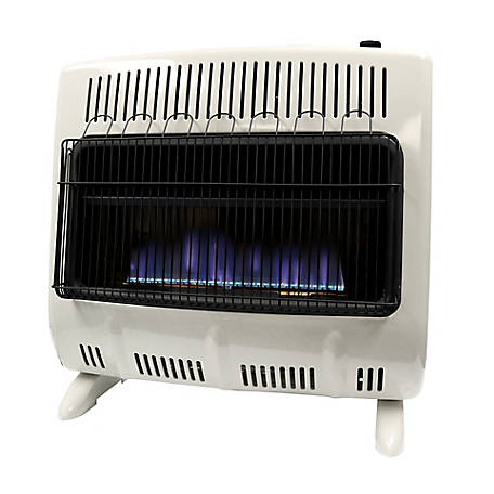 Mr. Heater 30,000 BTU Blue Flame Liquid Propane Vent Free Wall Heater, MHVFB30TBLP