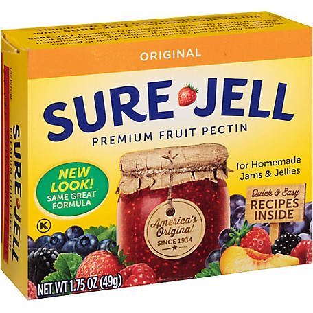 SURE JELL Premium Fruit Pectin, Original, 4826046
