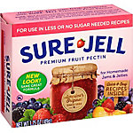 Sure-Jell Premium Fruit Pectin, For Less or No Sugar Needed