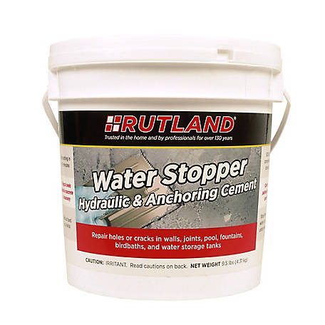 Rutland Water Stopper Hydraulic Cement, 9-1/2 lb  Tub at Tractor Supply Co