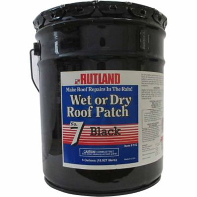 Buy Rutland No. 7 Wet Or Dry Roof Patch; 5 gal. Pail Online