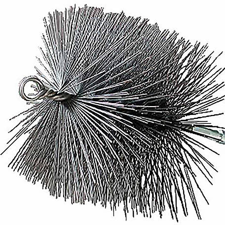 Rutland Chimney Sweep Chimney Brush, 6 in. X 10 in. Rectangular Wire, 1/4 in. NPT