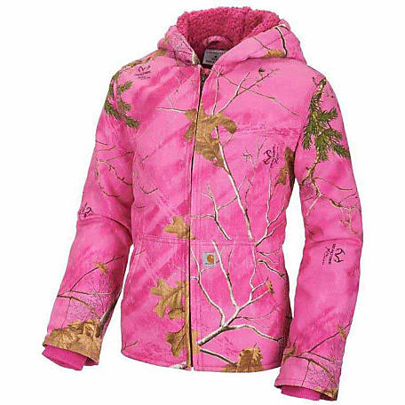 e64104d8c Carhartt Toddler Girl's Camo Redwood Jacket at Tractor Supply Co.