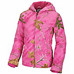 Carhartt Toddler Girl's Camo Redwood Jacket