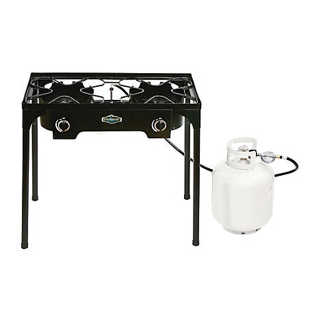 Stansport Outdoor Propane Stove with Stand
