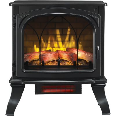 RedStone Infrared Quartz Freestanding Fireplace 1000 sq ft Heated