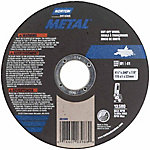 Norton 4-1/2 in. Metal Cut Off Blade, Pack of 5