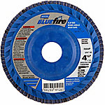 Norton Blue Fire 60 Grit Flap Disc, Pack of 2