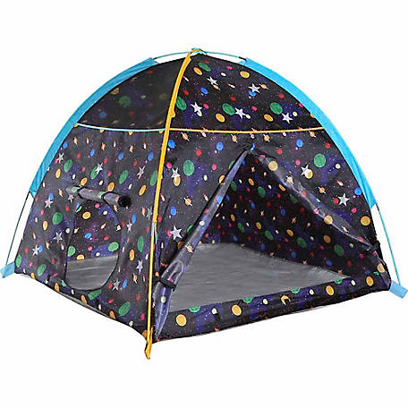Pacific Play Tents Galaxy Dome Tent with Glow in the Dark Stars