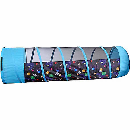 Pacific Play Tents Galaxy 6 ft. Tunnel with Glow in the Dark Stars