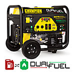 Champion Power Equipment 7500-Watt Dual Fuel Portable Generator, CARB Compliant