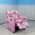 Mossy Oak Nativ Living Pink Tween Recliner
