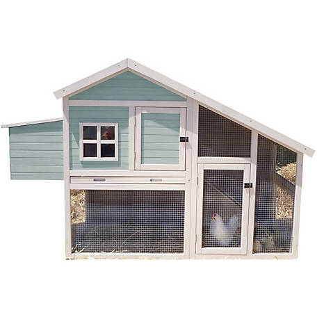 Precision Pet Products Nantucket Chicken Coop/Rabbit Hutch