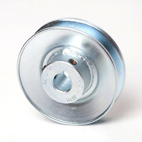Plastic V Pulley Wheel 3-1//2-In 5//8-In W /& 1//4-In V-Groove 3//8-In Bore