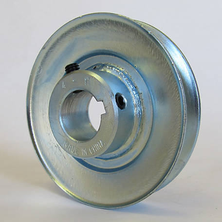 Phoenix Steel Drive Pulley, 1 in. Bore, 4 in. OD