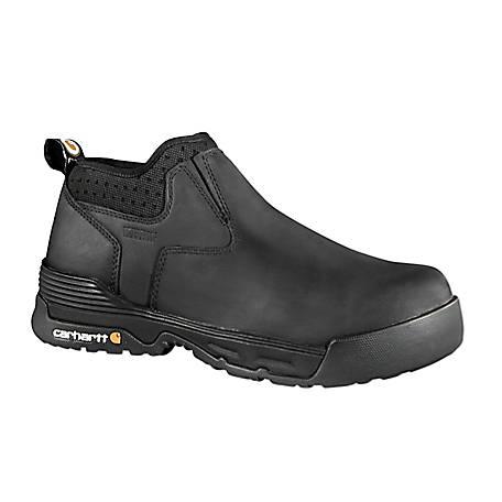 2f32c631b00 Carhartt Men's Romeo Black Composite Toe Waterproof Slip On at Tractor  Supply Co.