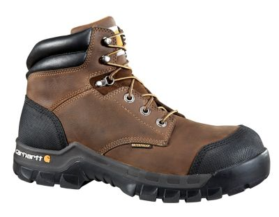 1dcc498cb7e Carhartt Men's 6 in. Brown Rugged Flex Waterproof Composite Toe Work Boot  at Tractor Supply Co.
