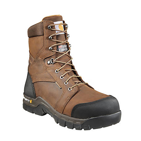 Carhartt Men's 8 in. Rugged Flex Waterproof Insulated Composite Toe Work Boot