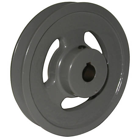 Phoenix 1-1/8 in. Cast Iron Pulley A/B Type, 4 in. OD