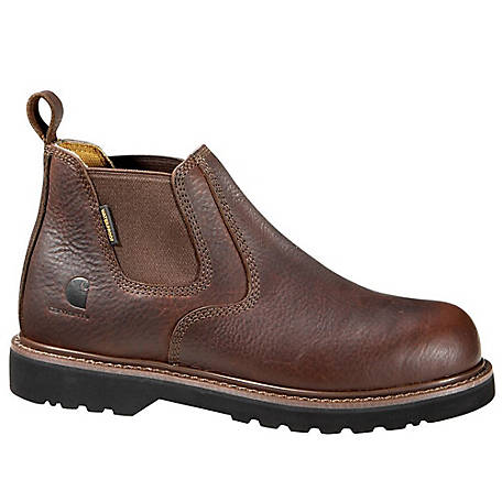 919373ca4d1 Carhartt Men's 4 in. Brown Waterproof Steel Toe Romeo Boot at Tractor  Supply Co.