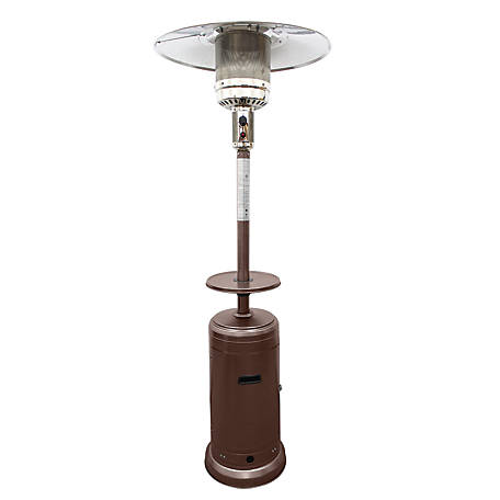 Hiland Az Patio Heaters Outdoor Patio Heater Hammered Bronze At