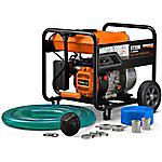 Generac ST20K 2 in. Semi-Trash Water Pump with Hose & Wheel Kit