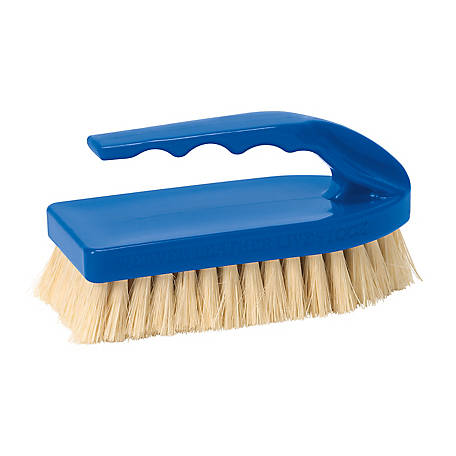 Weaver Leather Tampico Pig Brush with Blue Handle