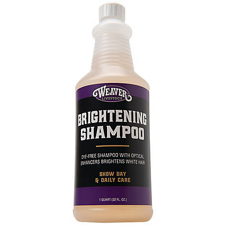 Weaver Leather Brightening Shampoo, 1 gt.
