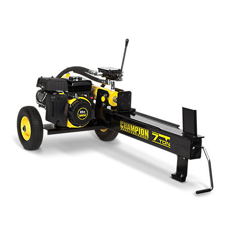 Champion Power Equipment 7-Ton Compact Horizontal Gas Log Splitter with Auto Return, 90720