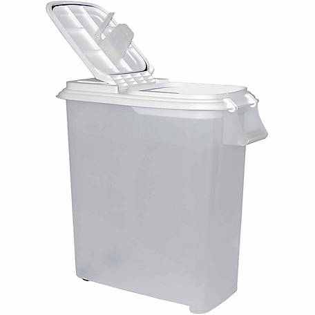 Buddeez 50 Qt. Roll-Away Dispenser w/ Attached Scoop