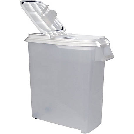 Buddeez 80 Qt. Roll-Away Dispenser w/ Attached Scoop