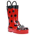 Western Chief Girls Red Ladybug Toddler Rain Boots