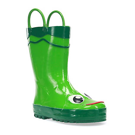 Western Chief Frog Toddler Rain Boots
