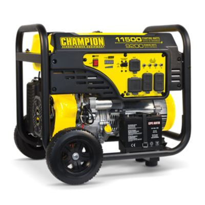 Buy Champion Power Equipment 9200-Watt Portable Generator with Electric Start Online
