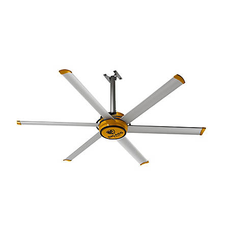Big Ass Fans BAF 2025 Shop Variable Speed Ceiling Fan with Wall Control, F-ES2-0701S34