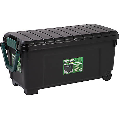 Remington Heavy-duty Rolling Tote, 42.25 gal.