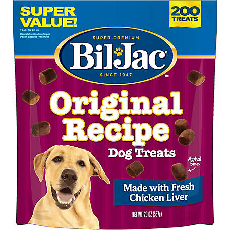 Bil-Jac Liver Dog Treat, 20 oz.
