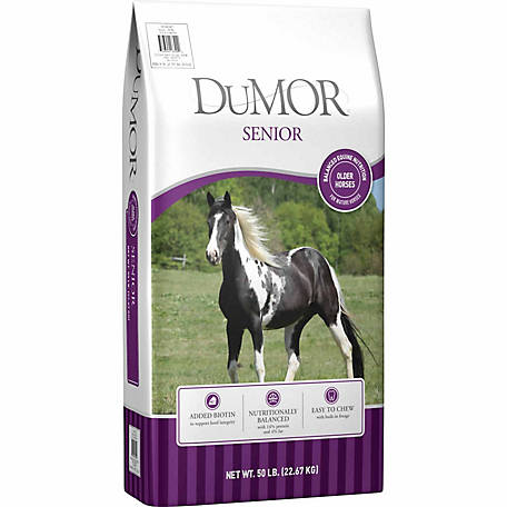 DuMOR Senior Equine Feed, 50 lb.